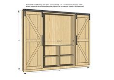entertainment-center-with-barn-doors-4