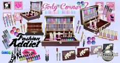 Lana CC Finds - Girly corner 2 by Jomsims