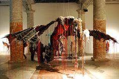 Installazione artistica per la Biennale di Venezia http://tosettoallestimenti.com/fine-art-transport-installazioni/