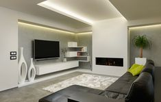 Dining Room Lighting, Home Lighting, Living Room Tv Unit, Living Rooms, Tv Wall Decor, Tv Wall Design, Decoration, Living Room Designs, Wall Units