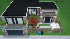 Casas The Sims Freeplay, Sims Freeplay Houses, Sims Free Play, Sims House Design, Casa Real, Entertaining, Architecture, Building, Outdoor Decor