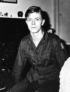 David Bowie, 1969.