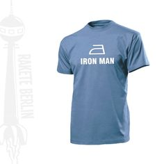 T-Shirt 'Iron Man'  von RaketeBerlin auf DaWanda.com