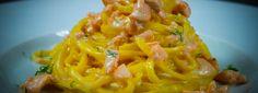 #Ricette di #Cucina #Gourmet – #tagliolini al #salmone fresco. #EXPO2015 #FOOD #MADEINITALY http://bit.ly/1DL1x1E