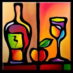 Art: Wine-098-3030-Tasty-2.jpg by Artist Thomas C. Fedro