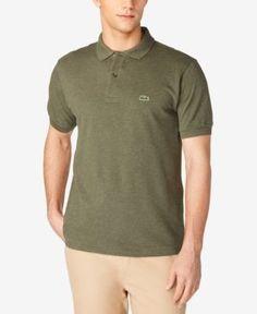 Lacoste Classic Pique Polo Shirt, L.12.12 - Green 4XL