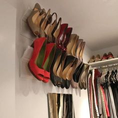 This is such a perfect idea!! Gosh I need this in my future closet!