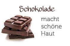 Gesichtsmaske mit Schokolade! 3 Zutaten und schon schenkst du deiner Haut Feuchtigkeit. Schokolade macht schöne Haut.