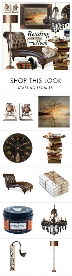 """""""Curl Up *  Reading Nook"""" by calamity-jane-always ❤ liked on Polyvore featuring interior, interiors, interior design, home, home decor, interior decorating, Parvez Taj, Heathfield & Co., homedecor and ReadingNook"""