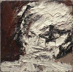 Frank Auerbach, Head of Helen Gillespie IV (£700-900k) £920k hammer (Jerry Hall)