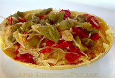 Southwest Spaghetti Squash in a Natural Shell | Recipes and Ramblings with the Tumbleweed Contessa