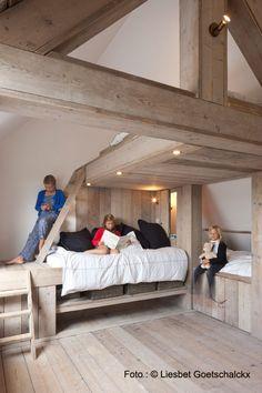 Zalig aan Zee - Knokke Belgium - weekend getaway bunk beds