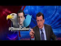 Stephen Colbert EPIC Response to Cancel Colbert - #CancelColbert - 3/31/2014 - YouTube