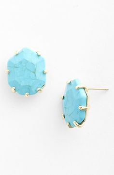 Kendra Scott 'Morgan' Stud Earring available at #Nordstrom