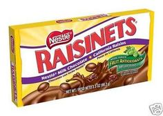 Nestle Raisinets 3.5 Oz Theater Candy Pack