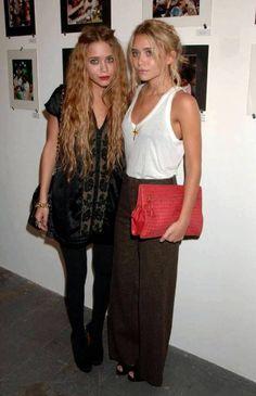 Mary-Kate and Ashley Olsen's minimalistic, feminin style