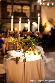 Our Spanish style candelabras. We also have French votives for these candelabras as well.