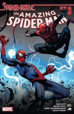 Cover to Amazing Spider-Man #11 (vol. 3)