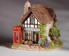 Lilliput Lane - The Old Post Office, Hampshire, Middle England L3357 | Lilliput Lane Cottages