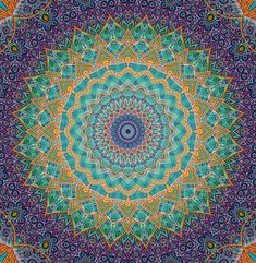 MANDALA meditation fora moment !