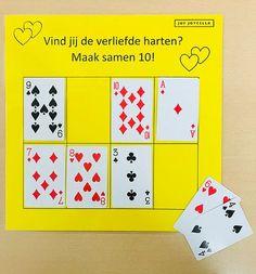 Maak samen 10 spel | Juf Joycella Numicon, Busy Boxes, Math Classroom, Mathematics, Circuit, Homeschool, Teaching, Spelling, Rid