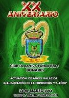 El Club Deportivo Fútbol Base de Bonares celebra su XX aniversario