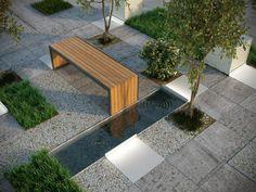 Cemetery, Decks, Fence, Landscaping, Sidewalk, Cabin, Plants, Furniture, Collection