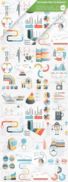 @newkoko2020 40% OFF Infographic Elements Bundle by Infographic Paradise on @creativemarket #infographic #infographics #bundle #download #design #template #set #presentation #vector #buy #graph #discount