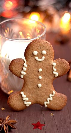 Gingerbread cookie....