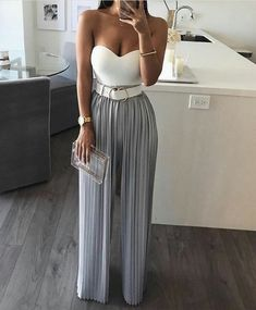 42 Fashionable Dressy Pants Outfits Ideas For Summer Classy Outfits, Stylish Outfits, Night Out Outfit Classy, Cute Everyday Outfits, Look Fashion, Womens Fashion, Ladies Fashion, Feminine Fashion, Sporty Fashion