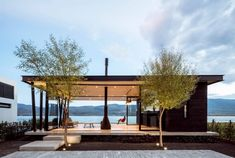 Image 1 of 22 from gallery of F+G Cajititlán Terrace & Jaime Copado + Francisco Sarabia. Photograph by César Béjar Prefab Homes, Glass House, Style At Home, Modern House Design, Home Fashion, My House, Boat House, Architecture Design, Houses Architecture