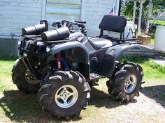 yamaha four wheelers mud Four Wheelers, Motosport, Dirtbikes, Go Kart, Custom Bikes, Outdoor Fun, Yamaha, Monster Trucks, Brat Motorcycle