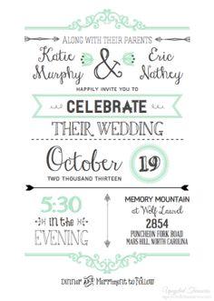 Amazing DIY Wedding Invitations I Upcycled Treasures   DIY Wedding Invitations With  A FREE Wedding Invitation Template!
