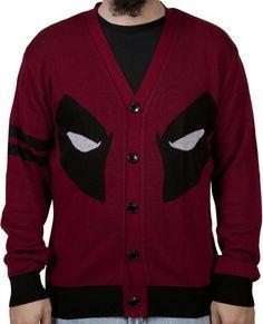Deadpool Cardigan Sweater
