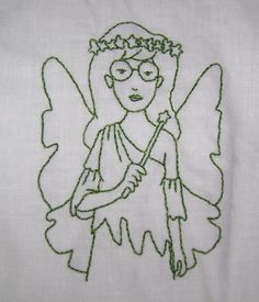 Its a Daria Fairy!  That is the most amazing thing ever!