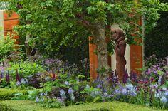 Chris Beardshaw garden. Chelsea Flower Show 2015