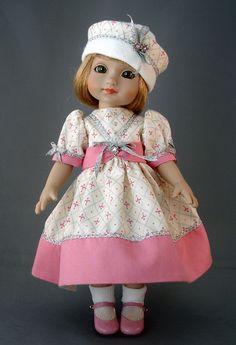 Sophie doll by Robert Tonner wearing my dress!