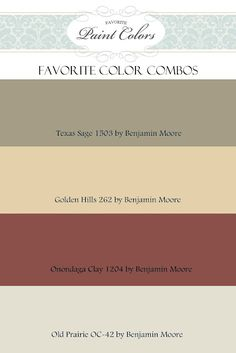 Ideas living room paint color ideas rustic benjamin moore for 2019 Warm Paint Colors, Paint Color Combos, Favorite Paint Colors, Paint Colors For Home, Wall Colors, Cabin Paint Colors, Country Paint Colors, Rustic Colors, Paint Colors For Kitchens