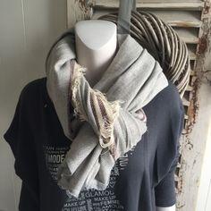 Hammam sjaal (grijs/bordeaux)