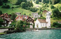 Bauen, Canton of Uri, Switzerland--Take me there now.