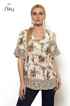 ΜΠΛΟΥΖΑ - silkycollection.gr Blouse, Tops, Women, Fashion, Moda, Fashion Styles, Blouses, Fashion Illustrations, Woman Shirt