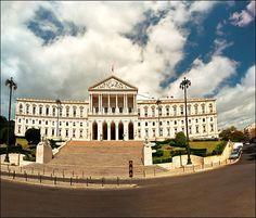 Lisbon - Palacio da Assembleia da Republica Iberian Peninsula, Seville Spain, Wide World, Royal Palace, Most Beautiful Cities, Spain Travel, Capital City, Granada, Portuguese
