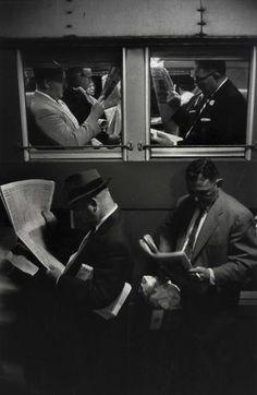 Penn Station New York 1958 Photo: Louis Stettner