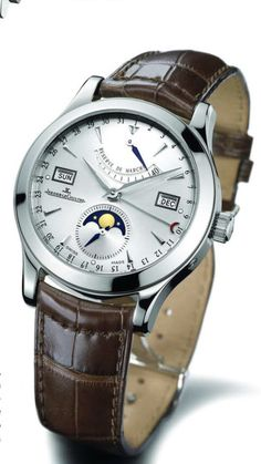 Shop authorized Jaeger-LeCoultre watch retailer - w/ manufacturer warranty and Tourneau warranty. Amazing Watches, Beautiful Watches, Cool Watches, Watches For Men, Men's Watches, Analog Watches, Black Watches, Dress Watches, Fine Watches