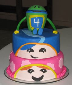 Creative Cakes By Ashley  Team Umizoomi Cake