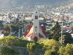 St John's, Fish Hoek, Cape Town. ...my home (and tallest building in town)...