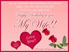 Welcome to our Happy Birthday Wishes Images and Pictures portal. Our focus is to help online readers find the best happy birthday quotes and messages Birthday Message For Wife, Wife Birthday Quotes, Happy Birthday Wishes Messages, Happy Birthday Status, Birthday Wishes For Wife, Romantic Birthday Wishes, Birthday Wishes And Images, Happy Birthday Brother, Happy Birthday My Love