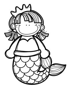 *✿**✿*CREALO TU*✿**✿* Coloring Pages For Kids, Coloring Sheets, Free Adult Coloring, Coloring Books, Art For Kids, Crafts For Kids, Colorful Pictures, Cute Pictures, Cute Clipart