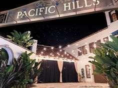 Ahhh, this is such a beautiful venue. Our draping was the perfect backdrop for guest photos as they arrived. See the heart in the sky? Reception Decorations, Event Decor, Wedding Draping, San Diego Area, Pipe And Drape, Wedding Trends, Corporate Events, Backdrops, Oc
