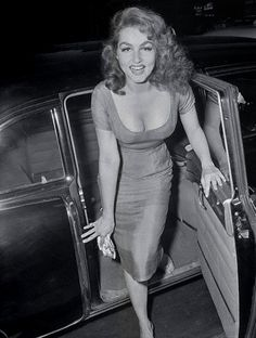 Julie Newmar sent to me by Julie Newmar who is a fan of this tumblr and has emailed me several rare images of herself…